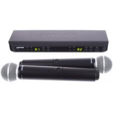 Shure BLX288E/SM58 K3E Dual Handheld System